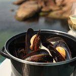 Local East Coast Tasmanian mussel hot pot
