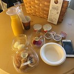 Nice breakfast basket!