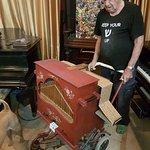 Owner Nisan & Nisco Museum antique musical instruments
