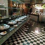 Kitsch restaurant at The O hotel