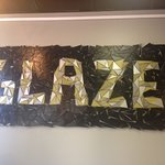 Glazed sign