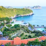 CatBa Island Resort & Spa from top of the mountain