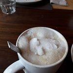 cappuccino avec sucre fin ! lol