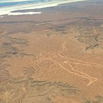 Lake Eyre and the Marree Man
