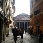 Foto di Al Pantheon con Thomas Mann