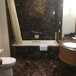 Fantastic hotel. Room was incredibly spacious and bathroom featured a second shower with a built