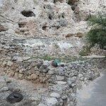 Interesting footings around the base of Montezuma's castle