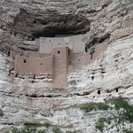 Set high in the cliff top, Montezuma's castle is well worth a visit