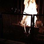 Feu de cheminée. Novembre au Balthazar