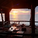 View of sound shack bar in blue Andaman lanta resort. No words to describe...
