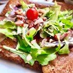 Crepe salata