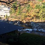 A truly typical ryokan experience in a beautiful mountain river setting.