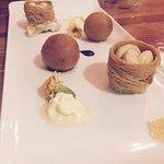 The pretty Dessert, amazing tasting Menu !!