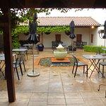 Giesen Winery Courtyard