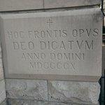 Latin plaque