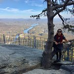 Almost the tallest stop at Chimney Rock