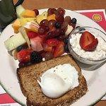 Coras fruit breakfast.