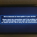 Cable TV outage
