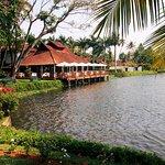 Fish restaurant on the lake
