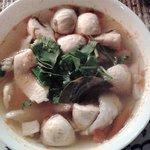 Tom Yam Gai Soup