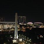Balcony view of Marina Bay