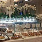 Particolare del buffet prima colazione
