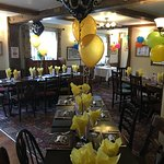 My 60th Birthday party at The Saxon Inn- excellent event, well managed, great food and friendly