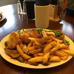My large carvery with plenty of chips