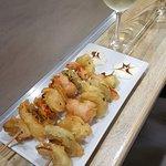 Brocheta de Verdura en tempura