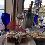 Crab Melt and the Crab/Shrimp Mac & Cheese