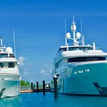 Yachts that have their own docks