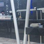 Área del Buffet en el restaurante