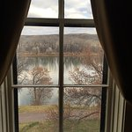 View of the Missouri River from room.