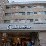 Entrance to the Ambassador