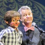 Ventriloquist Phil Hughes and Simon