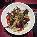 Magníficos platos, bien de cantidad, buena calidad y buena presentación