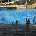 Enjoy at the pool