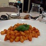 Gnocchi with pomadoro sauce