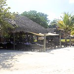 Stewfish restaurant is on the beach and great for breakfast or sunset dinners