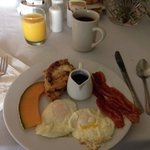 Breakfast was excellent
