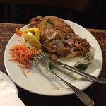Uneatable schnitzel