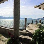 Ponton + terrasse du restaurant
