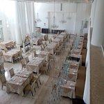 The formal Italian restaurant