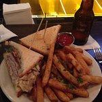 Tavern 29 - Club sandwich and fries
