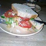 Sandwich végétalien : 100 roupies