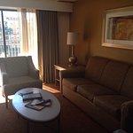 3 bedroom/2 bath in building F on the 4th floor. Bedroom 1: king bed, bedroom2: 2 beds, bedroom3