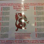 Placemat with Chinese Zodiac