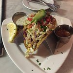 Happy hour Baja fish taco...$3.75...you know you want it!