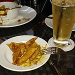 Curry Fries, Mixed Drink