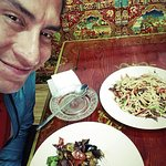 Tibetan Family Kitchen Foto